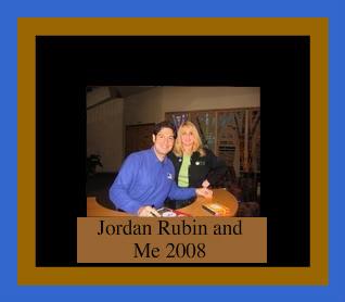 Jordan Rubin -My Mentor-Author of The Makers Diet