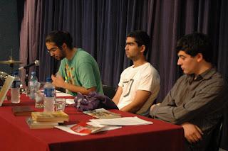 Oradores con Emmanuel Gomes Morgado