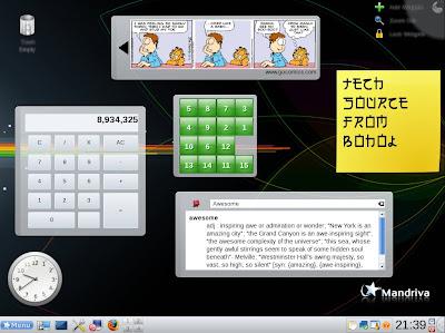 Plasmoids KDE4