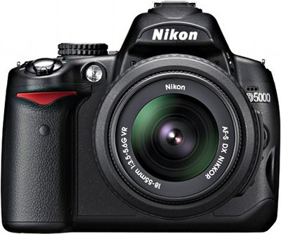 Nikon D5000 DSLR Camera Features and Technical Specifications: