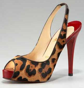 af958249e94 Christian Louboutin Leopard Print Slingback Sandals Price in the Philippines