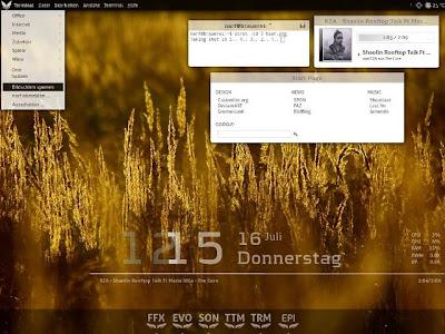 naaamo2004 26 temas para Conky, monitoriza con estilo