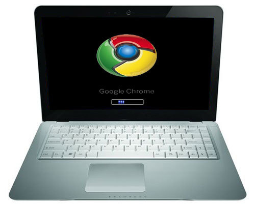 google chrome os. Google Chrome OS Netbook