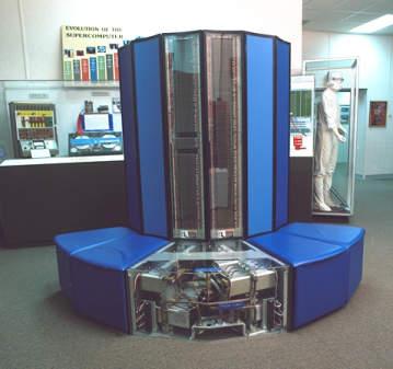 Diantara jenis komputer super yang terkenal adalah Cray (buatan Cray