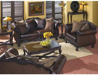 ashley furniture britannia rose collection trend home
