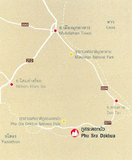 Phu Sra Dokbua Map at thailand-mountains.blogspot.com