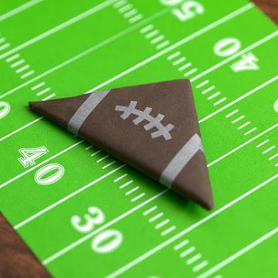 origami football field