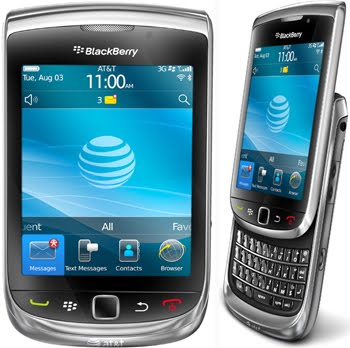 Spesifikasi BlackBerry Torch 9800 :