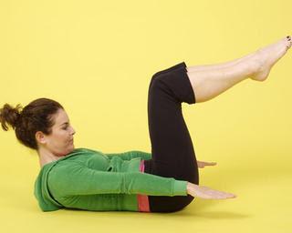 Des exercices pour un ventre plat:The Hundred