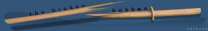 The Broken Bokken