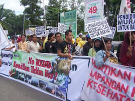 Aksi Hari HAM 10 Des 2009