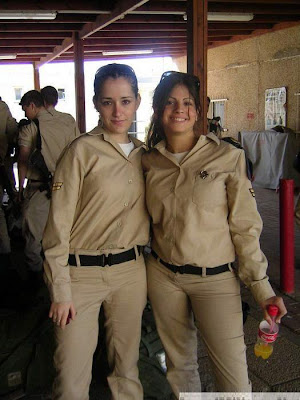 Gallery Photo of Girl Soldiers of Israel