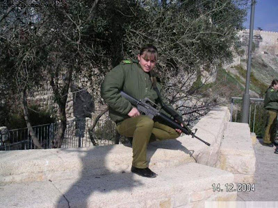 picture Of Girl Soldiers of Israel