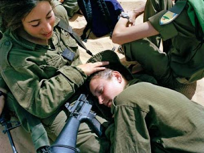 photo Girl Soldiers of Israel