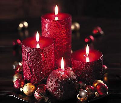 عكس های شمع های فانتزی