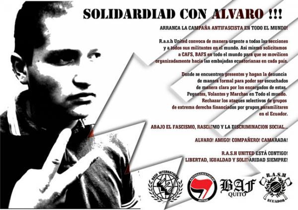 Solidaridad con Alvaro¡¡¡