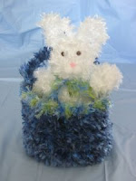 Easter Bunny in a Basket Crochet Project