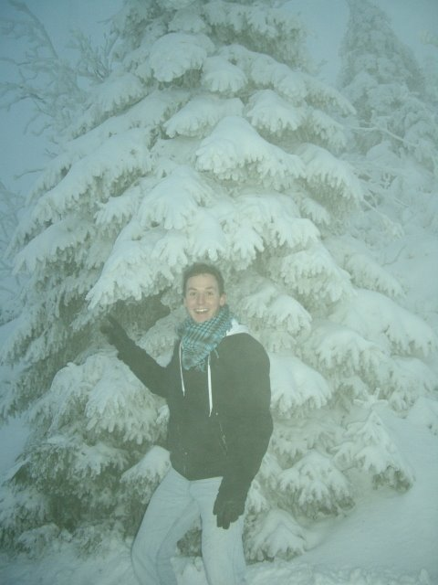 Beautiful Snowy Czech Republic