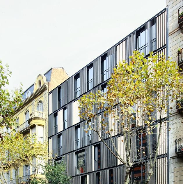 A f a s i a bach arquitectes - Calle casp barcelona ...