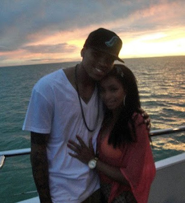 Chris Brown  Teyana Taylor on Teyana Taylor   Chris Brown   S Party On The Yacht    Butterfly Buzz