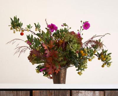 a Flora Grub bouquet