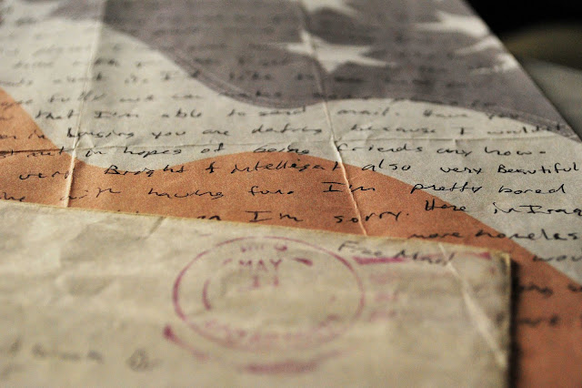 Love Letter from Iraq War