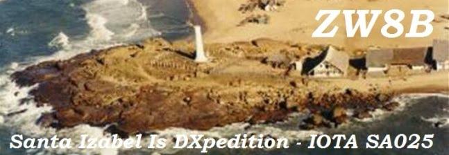 ZW8B DXpedition- 2010 -  IOTA SA025