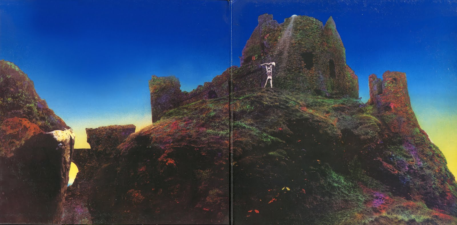 LED ZEPPELIN at KEZAR  SF 6 2 73Houses Of The Holy Album Cover