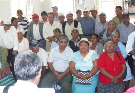 Adultos mayores en Bolivia