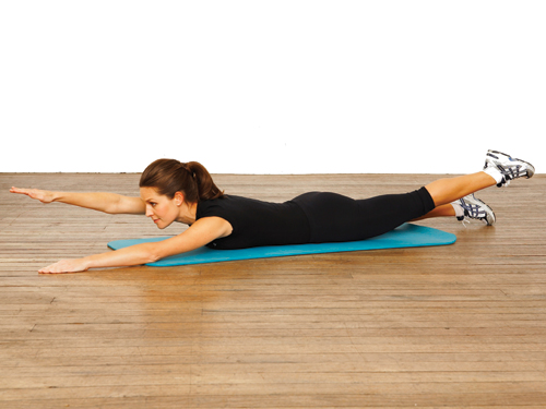 Superman Pose Yoga http://fitweekly.blogspot.com/2010/10/fun-abs-and-yoga-exercises.html