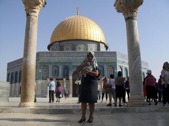 Pastora Rosimery em Israel