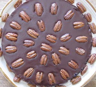 What Shoes I Wear: Mexican Chocolate Tart with Cinnamon Spiced Pecans