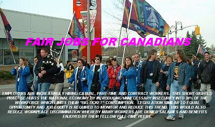 FAIR JOBS FOR CANADIANS