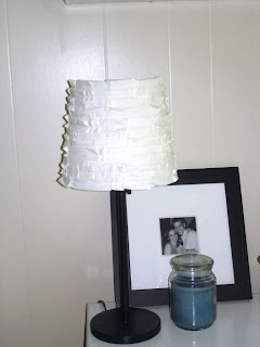 shabby pleated lampshade a tutorial
