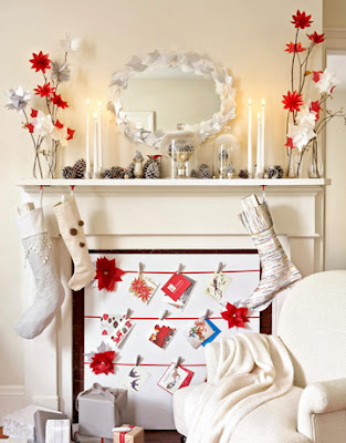 after mantle 1209 de holiday mantel inspiration