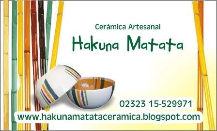 Hakuna matata Ceramica Artesanal