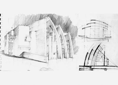 Disegno e rilievo architettura realizzata taccuini for Richard meier architetto