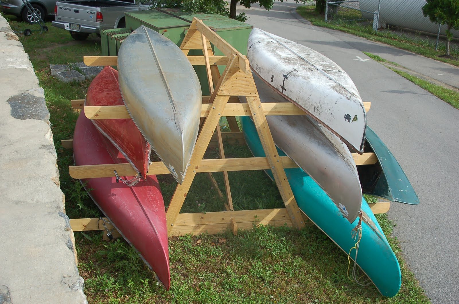 Wooden Rack For Kayak Car Pictures