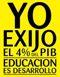 Lunes amarillo por la EDUCACIÓN DE MI PAÍS