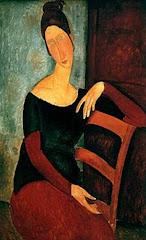 Té uns grans ulls de Modigliani