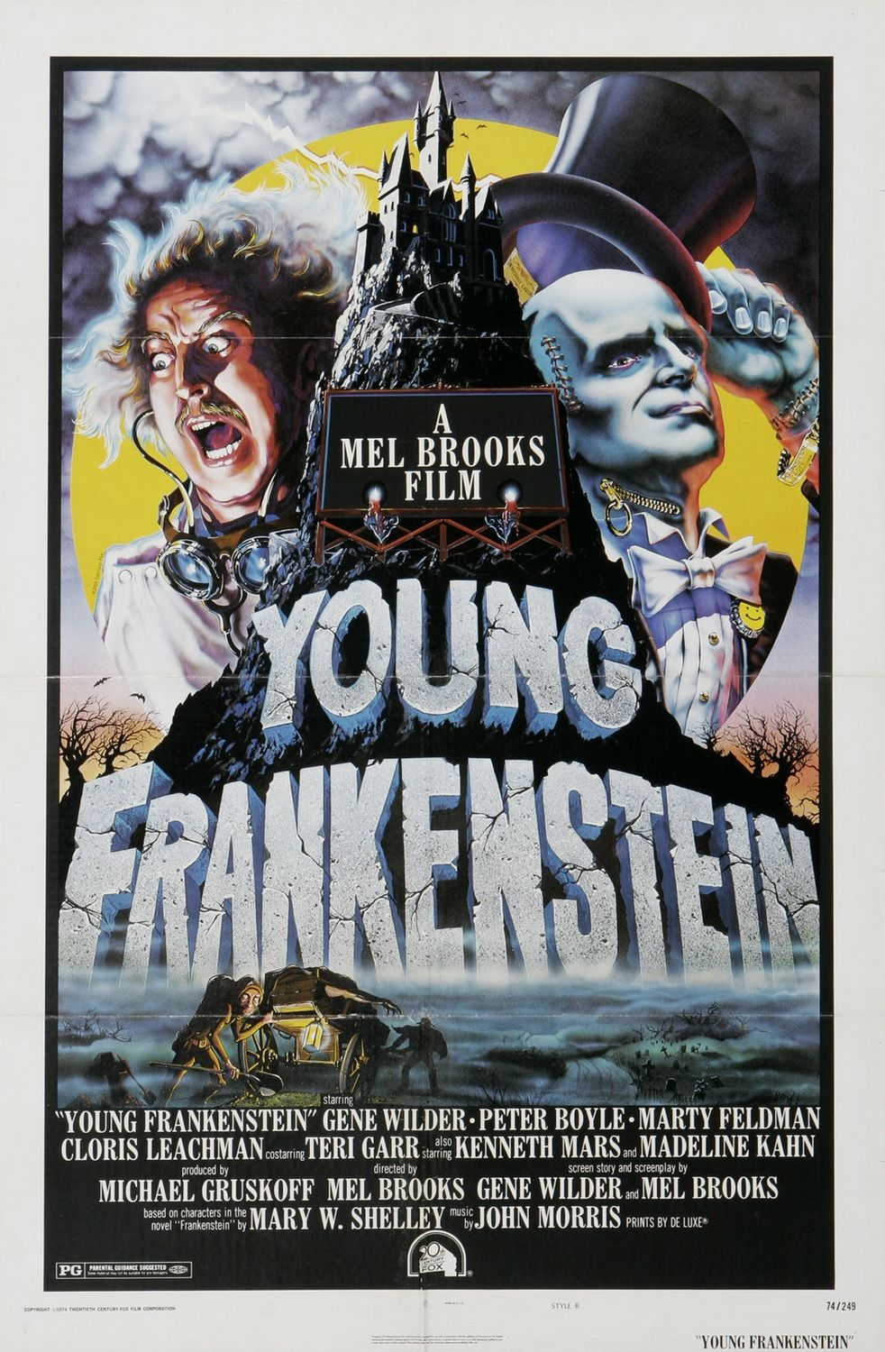 response to young frankenstein movie Young frankenstein 1974 pg comedy movie, new blu-ray gene wilder, boyle, feldman brand new blu-ray disc 45 out of 5 stars - young frankenstein 1974 pg comedy movie, new blu-ray gene wilder, boyle, feldman.