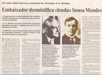 Meeting-point: ARISTIDES SOUSA MENDES