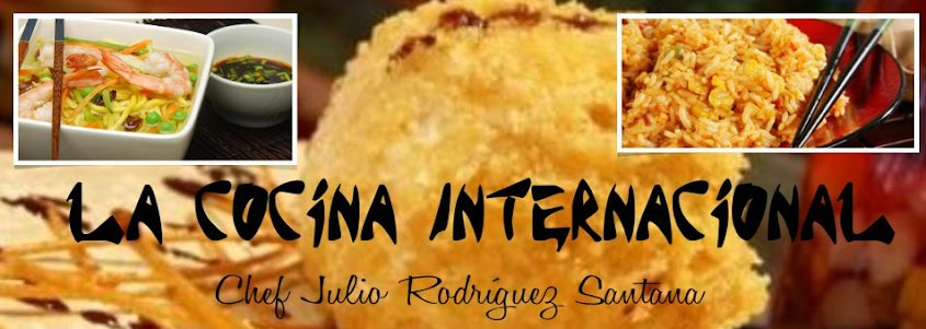 LA COCINA INTERNACIONAL