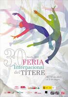 Cartel de la XXX Feria Internacional del Títere de Sevilla