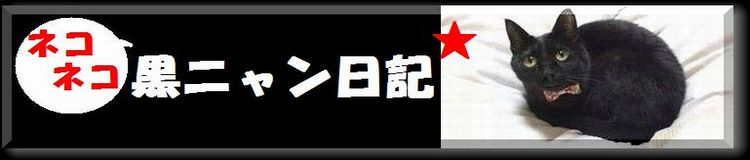 ネコネコ黒ニャン日記★