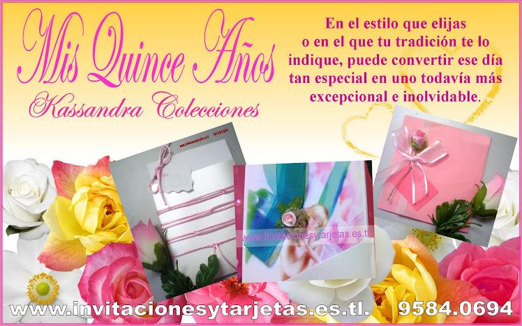 Invitaciones para Quinceañeras