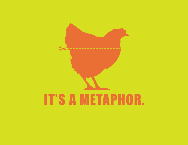 blog metaphors design