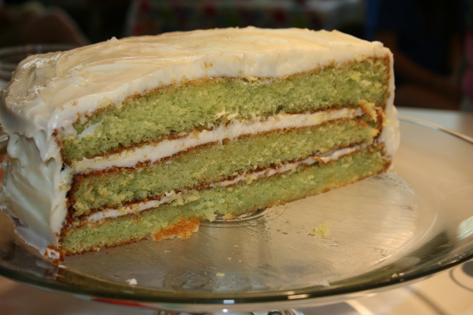 This Girl's Food: Key Lime Cake
