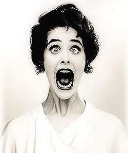 woman screaming gif