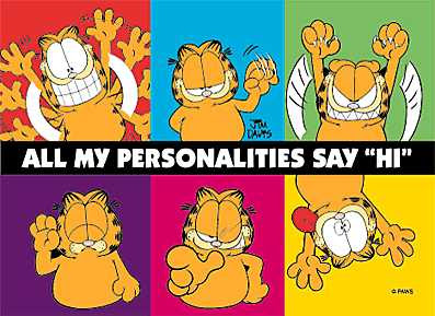 Personalidades de Garfield